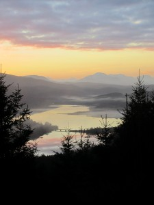 Scotland sunset serenity