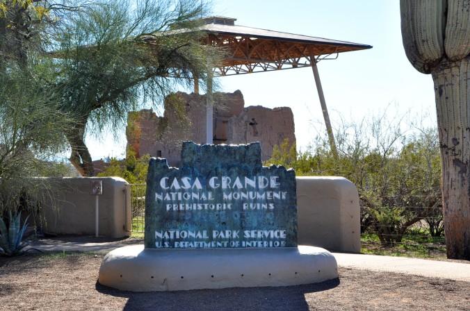 Casa Grande Ruins National Monument Coolidge Arizona