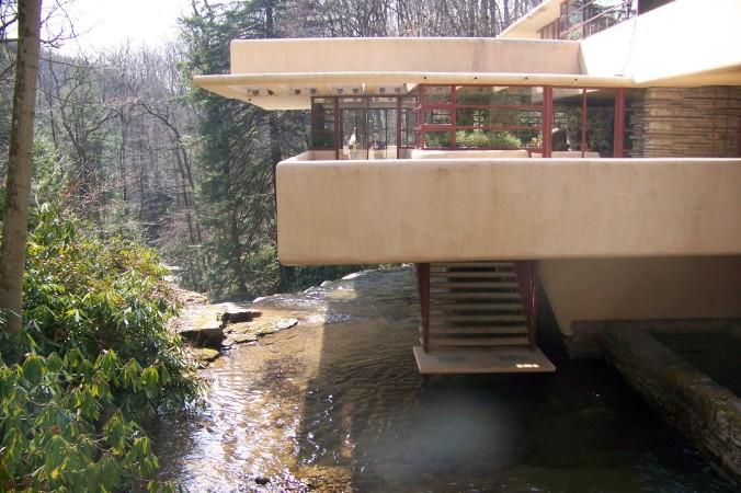 Fallingwater, Frank Lloyd Wright, Pennsylvania architecture