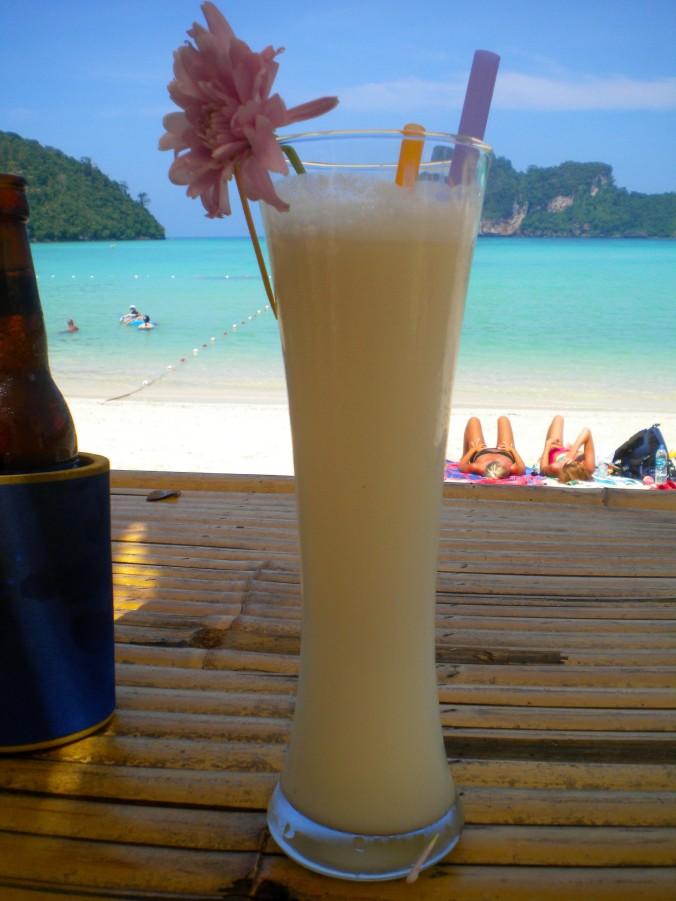 Pina Colada Thailand beach