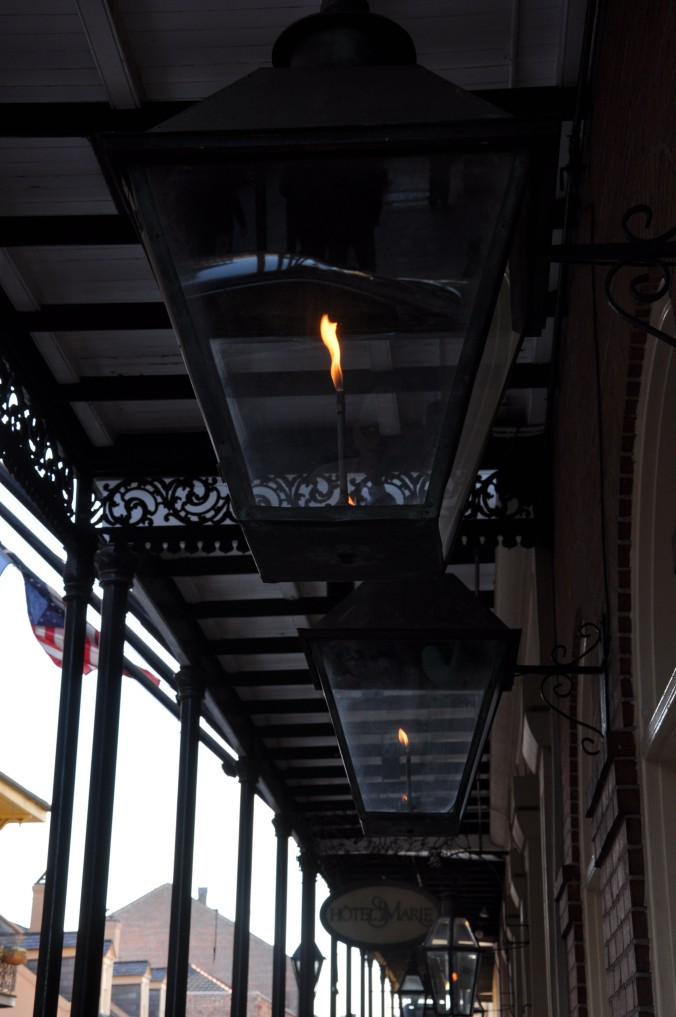 New Orleans Louisiana Street lamp