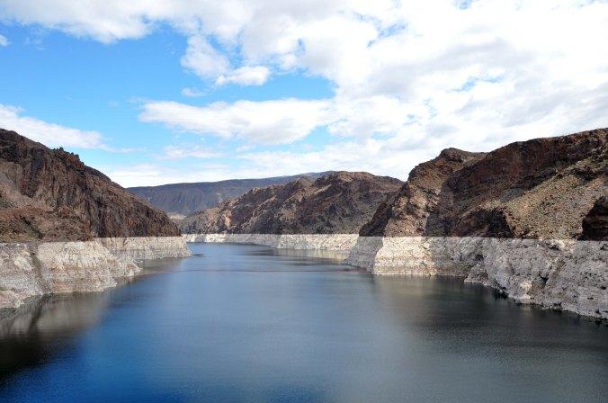 Lake Mead Arizona Nevada border