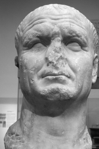 male marble bust missing nose