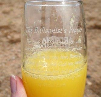 balloonist prayer, mimosa