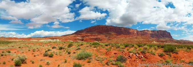 Vermillion Cliffs panoramic, Arizona
