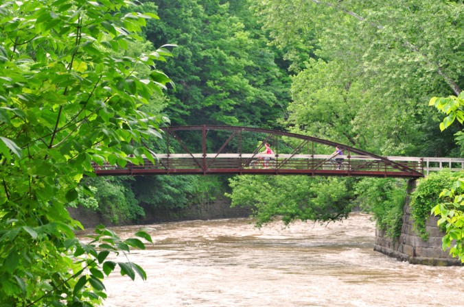Cuyahoga National Park, Towpath Trail, Cuyahoga River