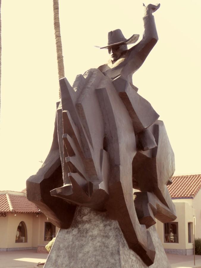 Cowboy statue, Old Town Scottsdale, Arizona