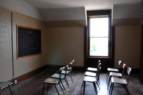 Ohio State Reformatory, Mansfield Reformatory, Ohio, classroom