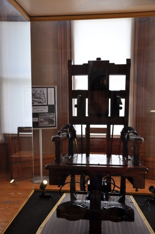 Ohio State Reformatory, Mansfield Reformatory, electric chair, old sparky, Ohio
