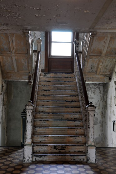 Ohio State Reformatory, Mansfield Reformatory, Ohio, staircase