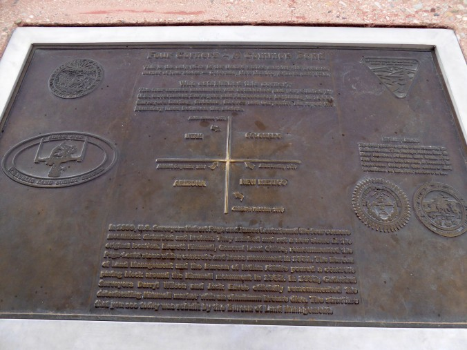 Four Corners Monument, Navajo Reservation