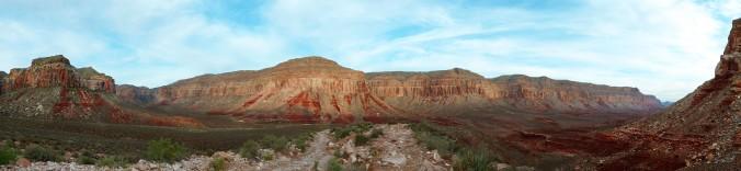 Havasupai Indian Tribe, Havasupai Falls, Havasu Creek, trail, canyon
