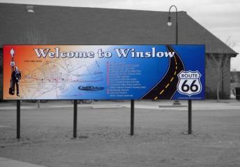 Standing On the Corner, Winslow, Arizona