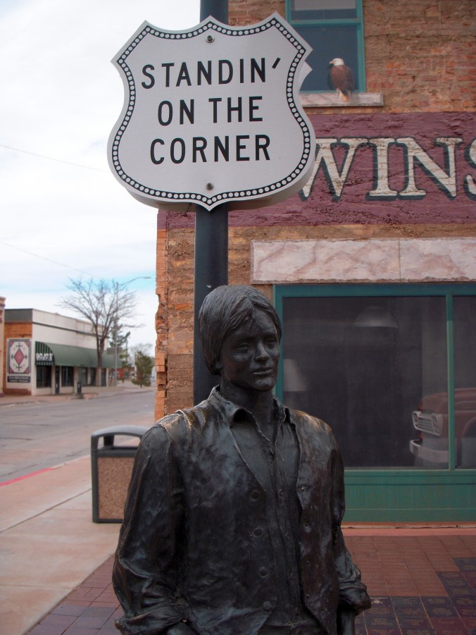 Standing On the Corner, Winslow, Arizona