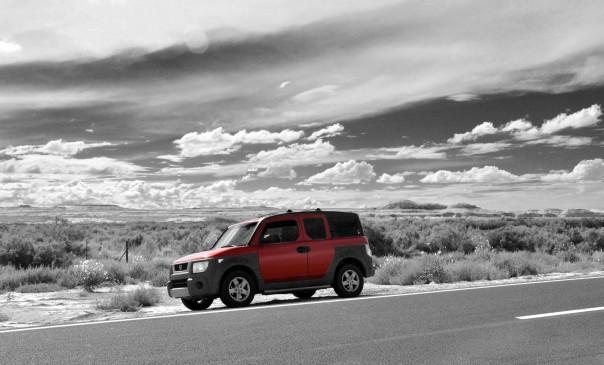 Honda element, Arizona