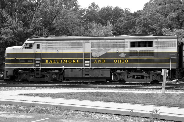 train engine, Ohio