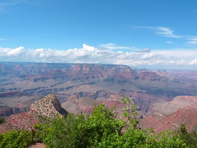 Grand Canyon, Arizona, blue skies