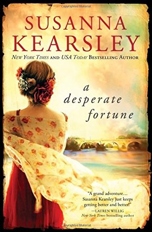 A Desperate Fortune by Susanna Kearsley, book cover