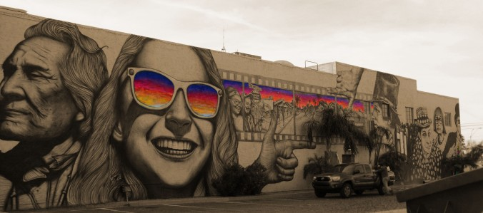 street art, mural, downtown, Phoenix Arizona
