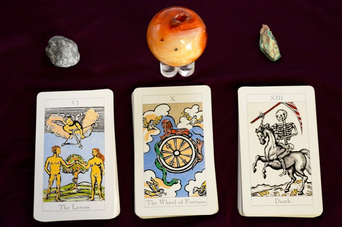 tarot cards, card reading