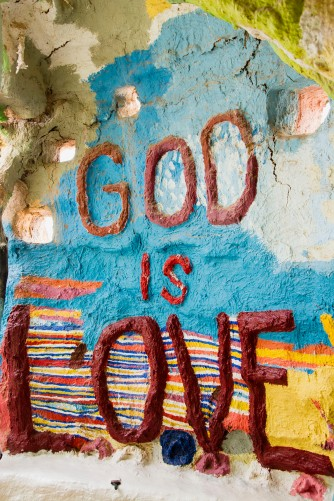 Salvation Mountain, Imperial County, California, art, desert