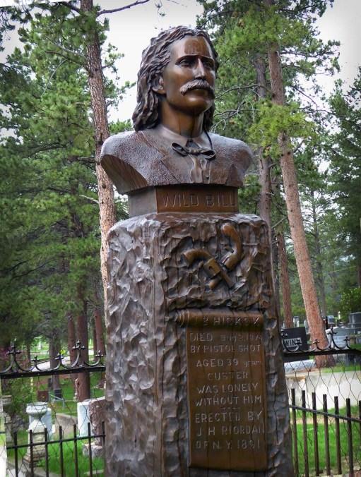 Wild Bill Hickok, Deadwood, South Dakota, Moriah Cemetery
