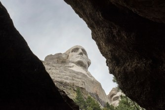 South Dakota, Black Hills, Mount Rushmore National Memorial